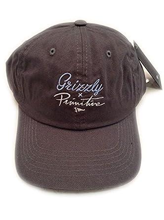 Amazon.com  Primitive X Grizzly Script Logo Dad Hat (one size 5b8527a4c8b