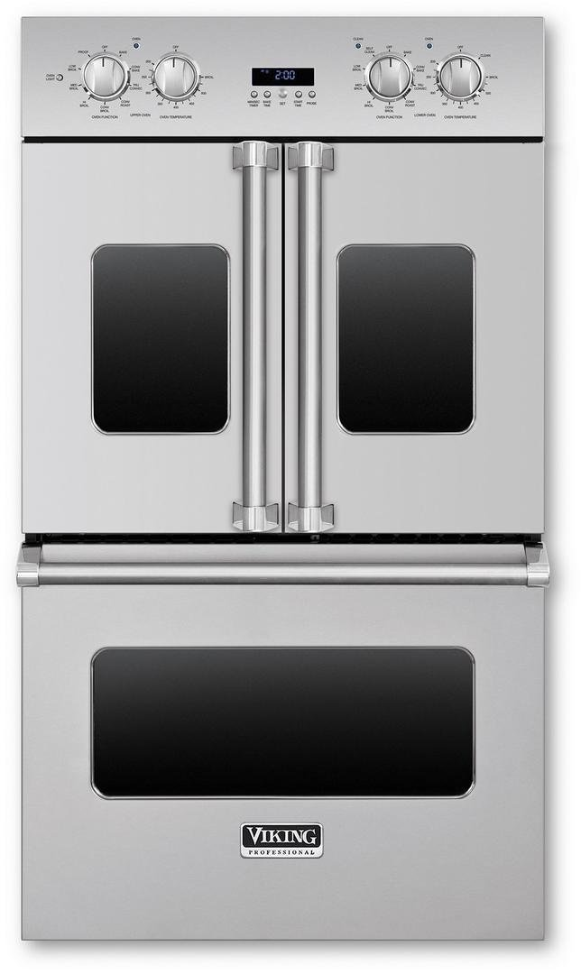 "Viking 30"" Double Electric French-door Oven"