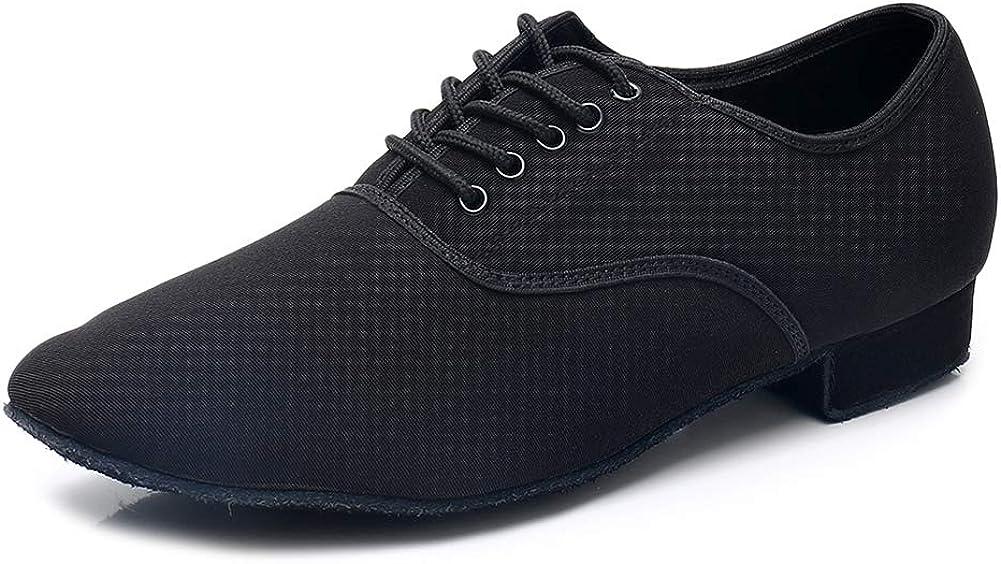 HIPPOSEUS Super intense SALE Men's Latin Dance Shoes Tango So Ballroom Morden Rumba Oklahoma City Mall