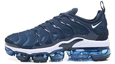 04960fc909a21 MAXTOP Air Vapormax Plus TN Athletic Blue White Mens Sports Fitness ...