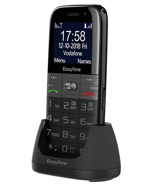 Easyfone Prime A2 - Teléfono Móvil para Mayores con Teclas...