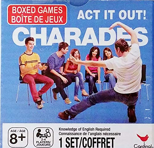 (Act It Out! Charades Boxed Card Game - Family Fun, Teams 2-4 Players)