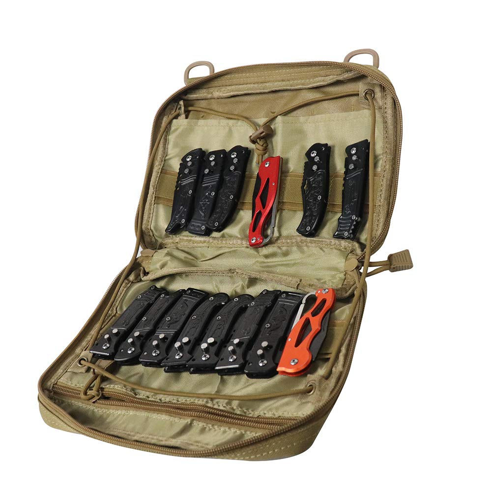 Super Pocket Knife Bag, Tactical Knife Storage Case, Folding Knife  Collecting Pouch, Large Capacity Small Knife Carrier Protectors, Versatile  Knife
