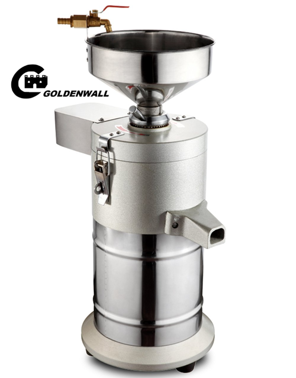 Commercial aluminum alloy Healthy Nutrition Soymilk Maker Commercial large Soymilk Maker Soybean Milk machine Electric fiberizer Automatic Soya Milk and Dregs separater Splitter 80kg/h by CGOLDENWALL