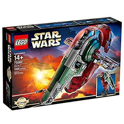 LEGO STAR WARS Slave I 75060 Star Wars Toy: Toys & Games