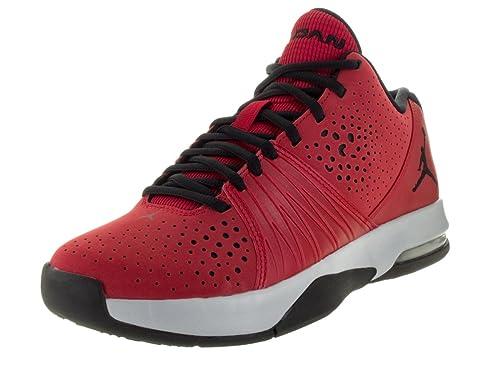 best sneakers d1914 6cb62 Nike Herren Jordan 5 AM Turnschuhe, (Gym Rot Schwarz-Wolf Grau)