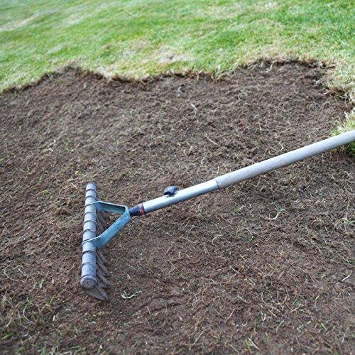 EZ Straw Lawn Repair Mix – Sun/Shade Blend – COMBINATION Seed, Mulch, Fertilizer (28 lb. Covers 600 sq. ft.)