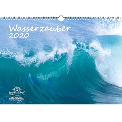 Wasserzauber - Calendario 2020, diseño de cascada y agua (formato ...