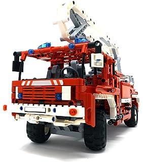 Lego Technic 8289 Roter Feuerwehr Truck Amazon De Spielzeug