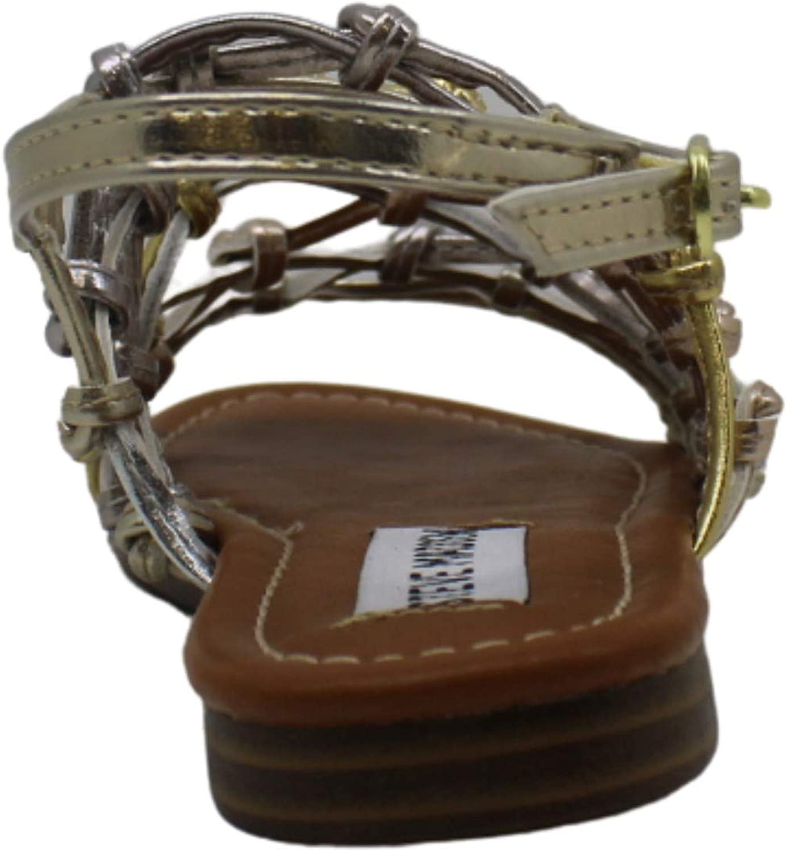 Kids Steve Madden Girls Jmistic 18 Zipper Gladiator Sandals