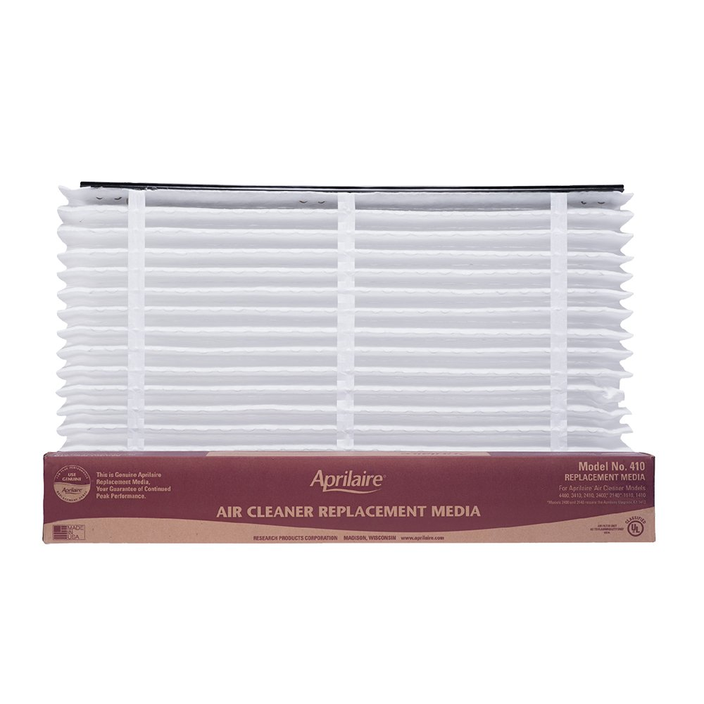 Aprilaire 410 Air Filter 8 Pack for Air Purifier Models 1410, 1610, 2410, 3410, 4400