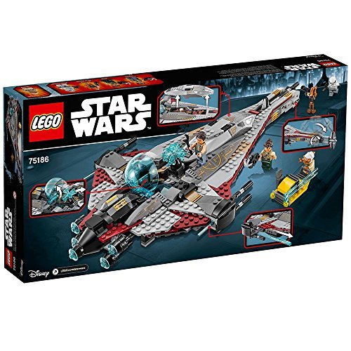 LEGO Star Wars The Arrowhead 75186 Building Kit JungleDealsBlog.com