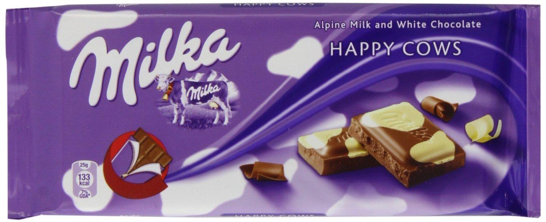 Amazon Com Milka White Chocolate 3 52 Ounce Bars Pack Of 10