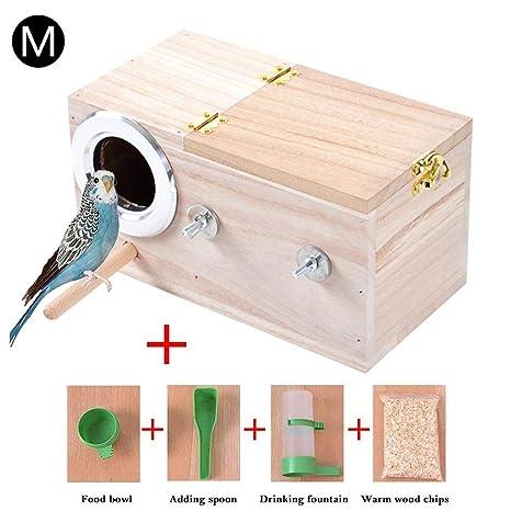 perfecti Caja De Nido De Pájaros De Madera Caja De Cría para ...