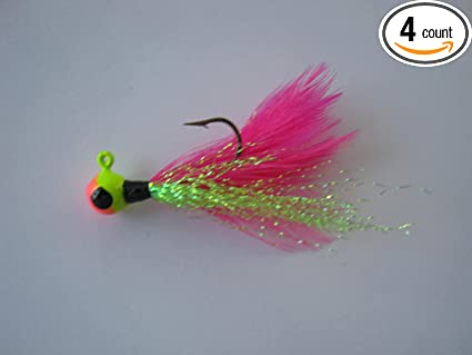 Hand Tied Crappie Jigs By Shine