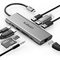 Deals on Omars USB C Hub 9-in-1 Docking Station