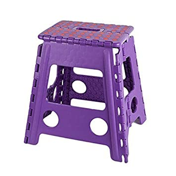 KARMAS PRODUCTS Super Strong Folding Step Stool 15 Inch Portable Carrying Handle for Adults and Kids  sc 1 st  Amazon.com & Amazon.com: KARMAS PRODUCTS Super Strong Folding Step Stool 15 ... islam-shia.org