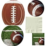 Football Tailgate Rush Party Bundle,  Serves 16 Guests