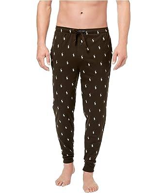 c6de480be Image Unavailable. Image not available for. Color  RALPH LAUREN Polo Men s  Lightweight Cotton Logo Pajama Pants ...