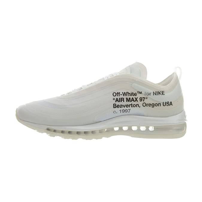 06d72748d19e3 Nike The 10 AIR MAX 97 OG 'Off-White' - AJ4585-100: Amazon.co.uk: Shoes &  Bags