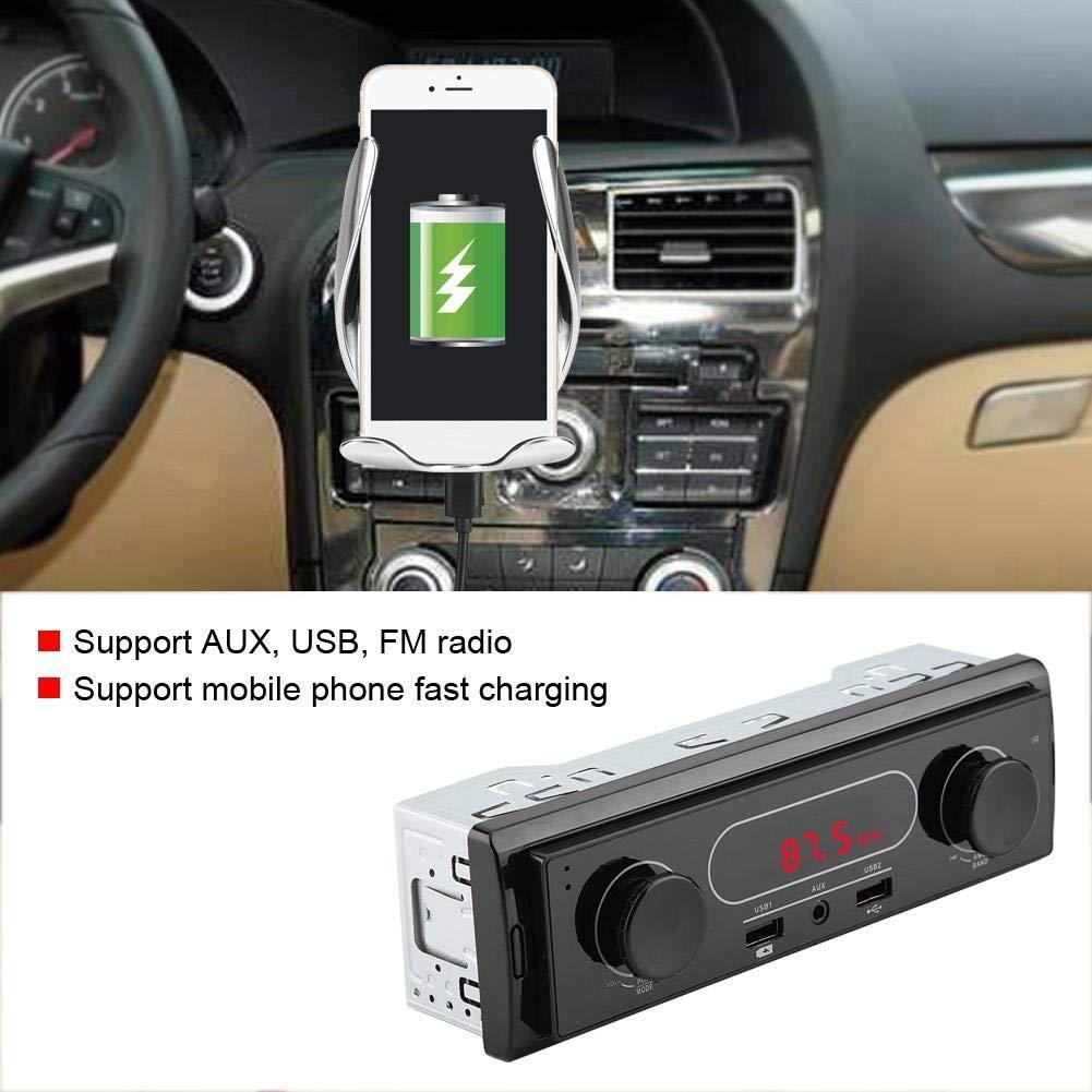 Fydun Car MP3 Player K502 12V Car AUX Stereo MP3 Player USB Radio Phone Charging