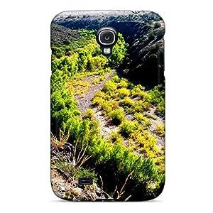 Dsorothymkuz ZrdbnMy3745fnBqn Case Cover Skin For Galaxy S4 (green River Thru The Desert)