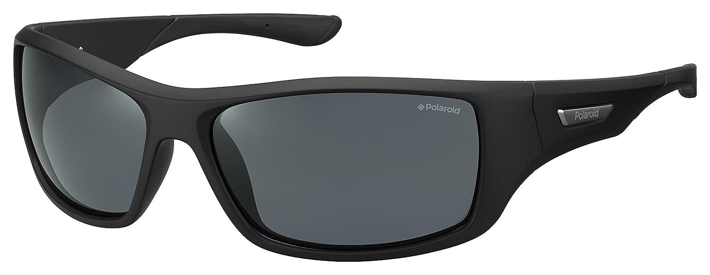 Polaroid PLD 7013/S M9 gafas de sol, Negro (Black/Grey Pz), 63 para Hombre