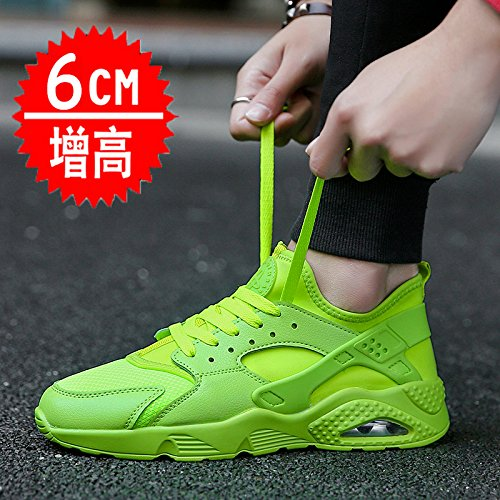 breathable summer by increased sports shoes 6c nbsp; GUNAINDMX spring nbsp;Men's leisure net increase Green shoes aw0pBAq