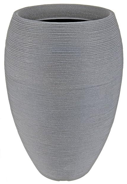 Design Pflanzkübel hoch - 58x40 cm - XXL Kunststoff Blumenkübel ...