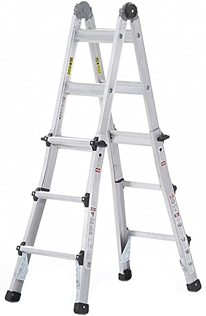 Cosco 13 ft. Mundos mayor escalera multiposición: Amazon.es: Bricolaje y herramientas
