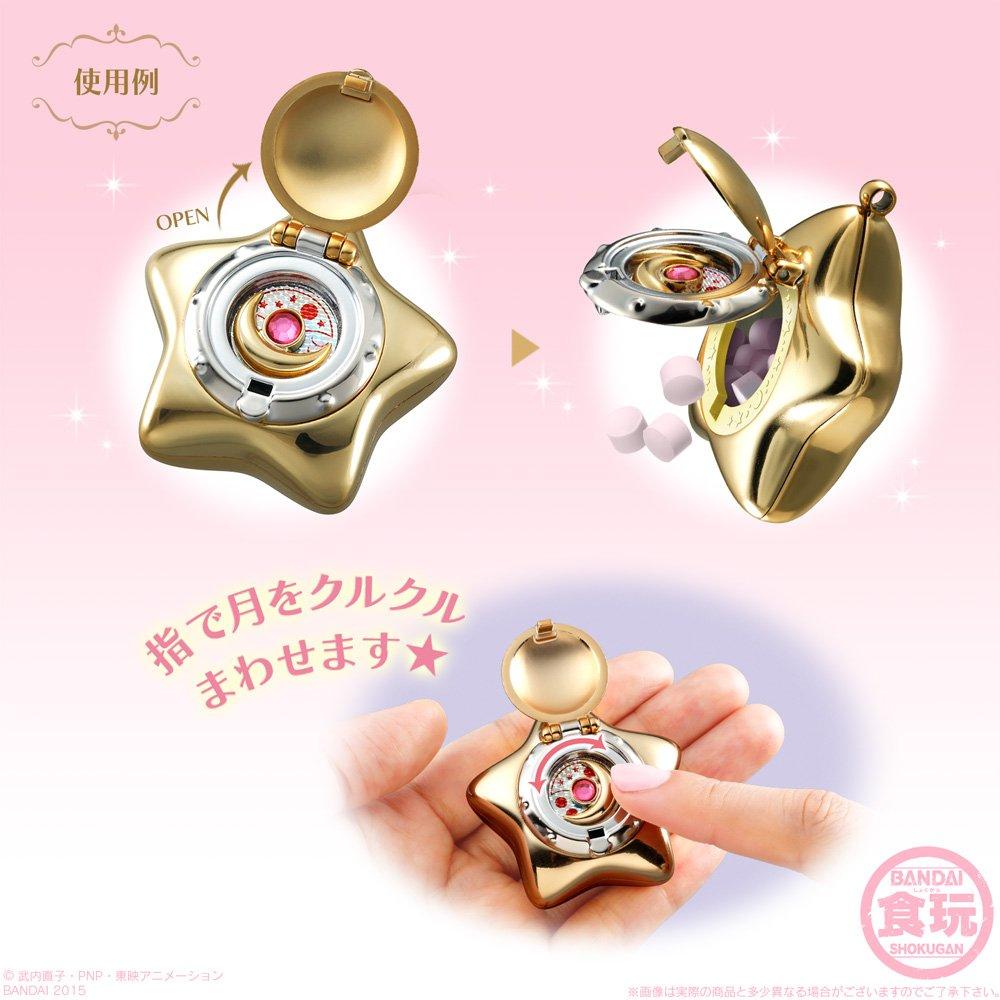 Bandai Shokugan Sailor Moon Miniaturely Tablet 2 (Pack of 10) by BANDAI (Image #7)