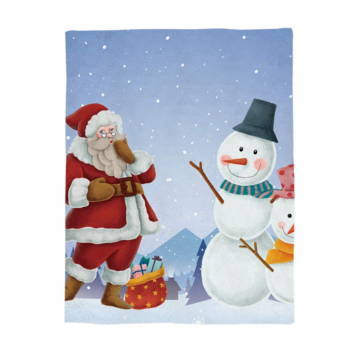 Christmas 2476lgry8372 King Size 60 x80  Greday Christmas Throw Blankets for Adults Kids Comfort Luxuriously Soft Throw Blanket AllSeasons Couch Blanket or Bed Throw,Full Size 50 x60