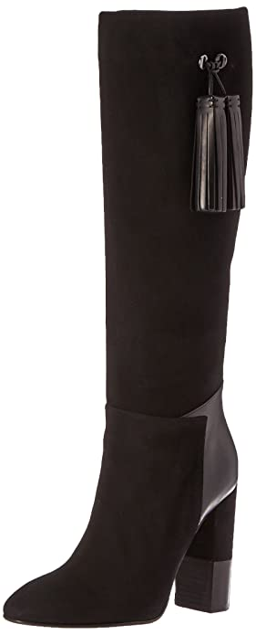 Aquatalia Women's Evelina Sde/Anil Clf Combo Winter Boot, Black, ...