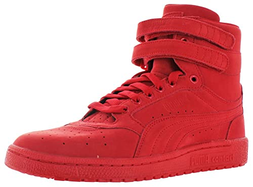 6df6ba30231 PUMA Men s Sky II Hi Mono NBK Flame Scarlet White Athletic Shoe ...