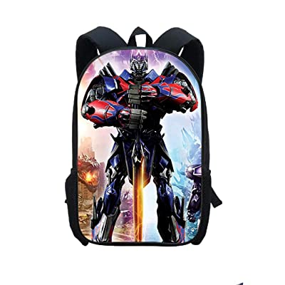 GD-Tshirts Kids Transformers Backpack-Boys Back to School Bookbag Lightweight Rucksack-Travel Bag, Outdoor Bag: Clothing