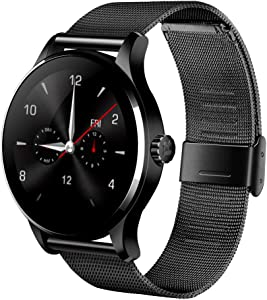 Kuangbin K88H Smart Watch,Smart Watch Fitness Tracker Smart Watches for Women Men Kids with Heart Rate Monitor Bluetooth Sports Activity Tracker Compatible with Android iOS(2Straps)