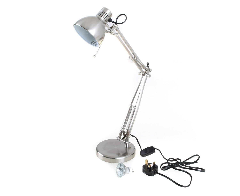 ARSUK L855BC Studio Poise Halogen Hobby/ Desk Lamp - Brushed Chrome