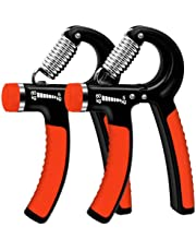 Hand Grip Strengthener Strength Trainer Hand Exerciser, Adjustable Resistance 11-132 lbs Forearm Strength Training, Heavy Wrist Finger Dumbbell Hand Muscle Trainer for Athletes Pianists Kids
