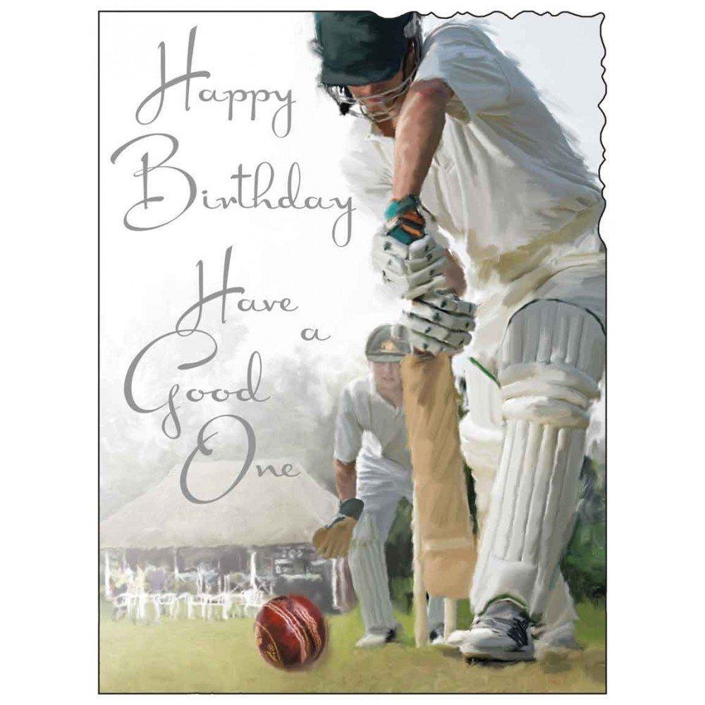 Meerkat Cricket Birthday Card Howzat Amazon Co Uk Office Products