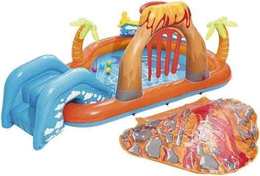 LCYCN Flotador Juguete Hinchable para Piscina,Toboganes inflables de Agua de Piscina para niños, PVC Piscina de natación Balsas para bebé más de 3 años de Edad Juguete de Agua para niños,D: Amazon.es:
