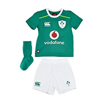df2d66ffccd Canterbury Kid's Ireland Infant Home 2016/17 Rugby Kit - 2 - 3 Years ...