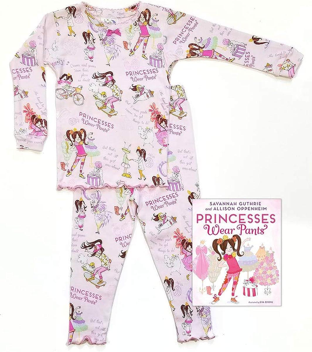 Books to Bed Princess Wear Pants Pajama Set