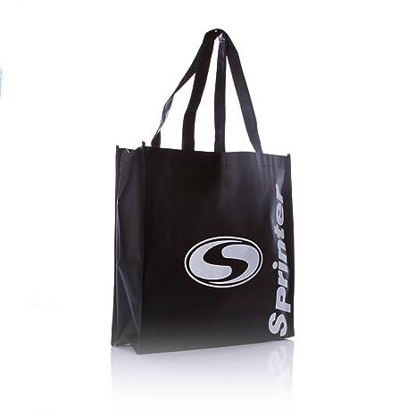 SILVER Bolsa Reutilizable Sprinter en Color Negro (Talla: T.U.): Amazon.es: Deportes y aire libre