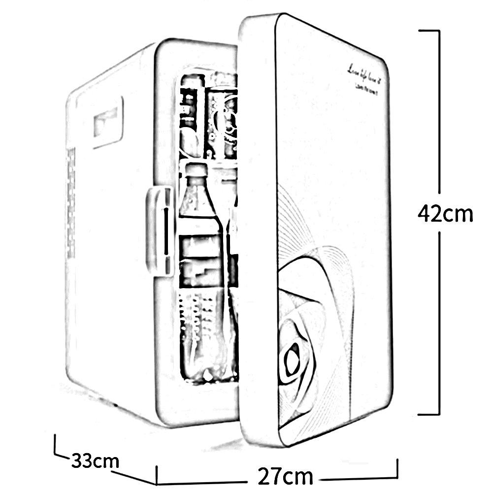 LIQICAI 20L Tragbar Elektrische Kühlbox Mini Kühlschrank Warm Cool ...