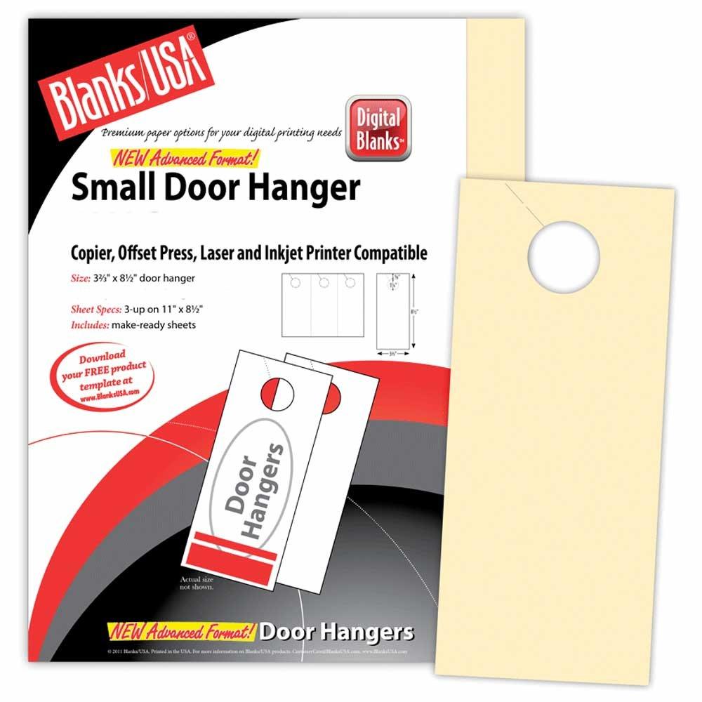 150 Door Hangers Digital Door Hanger 3.67 x 8.5