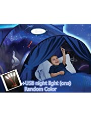 Tent-Pop Up Tents,Children's Tents, Game Tents Indoor, Bed Tents, Space Tents, Children's Playrooms, Boys and Girls Christmas Birthday Gifts (Space Exploration)
