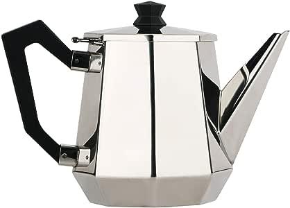 لوكسس ابريق شاي ستانلس ستيل 0.9 لتر  ,فضي  ,02-02-13-257