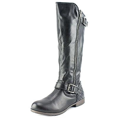 Material Girl Womens Larisa Almond Toe Fashion Boots