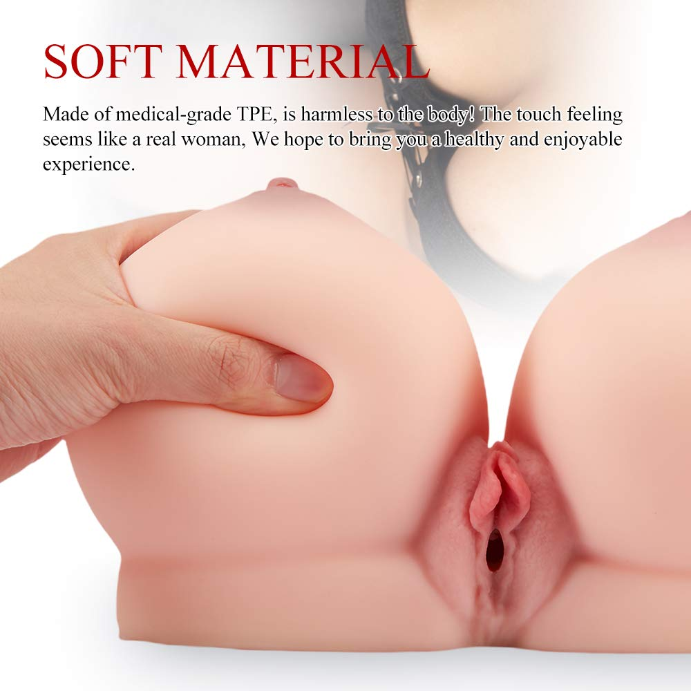 Male Masturbator Sex Doll for Men Masturbation - Realistic Boobs with Vaginal for Sexual Pleasure - Fondlove 3D Pussy Ass Sex Toy for Breast Sex and Vagina Sex by Fondlove (Image #4)
