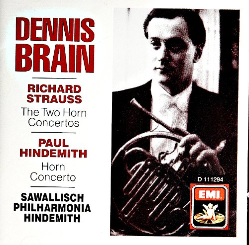 - R. Strauss: The Two Horn Concertoes / Hindemith: Horn Concerto